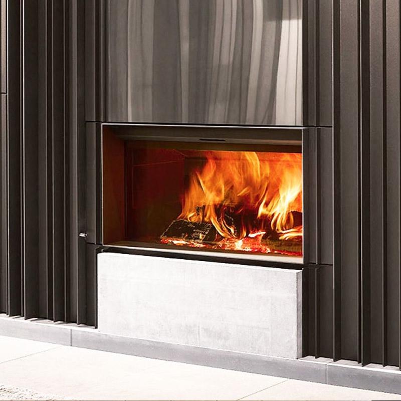 cheminee moderne stuv 22 - 1 vitre Flam Cheminee Antibes et Nice